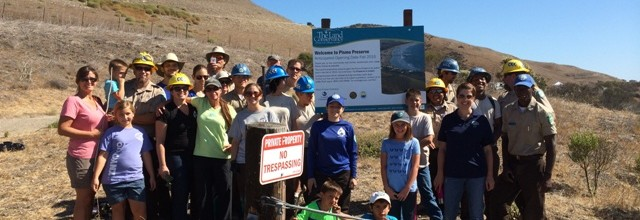 Volunteer Day with the California Conservation Corps